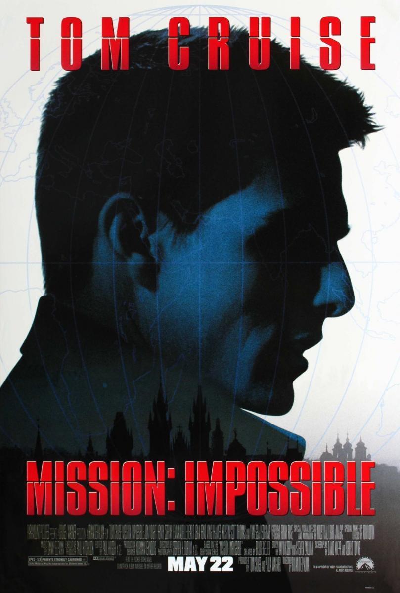 Mission Impossible (1996), de Brian De Palma