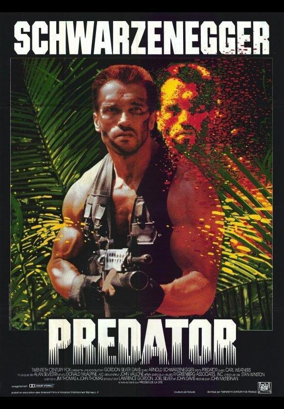 Predator (1987), de John McTiernan
