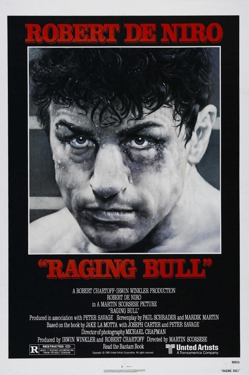 Toro Salvaje (1980), de Martin Scorsese
