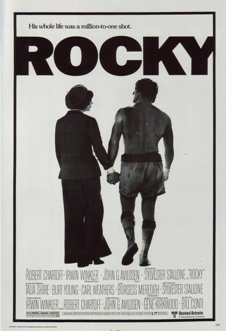 Rocky (1976), de John G. Avildsen
