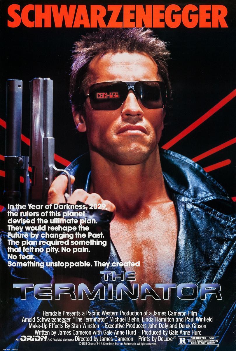 Terminator (1984), de James Cameron