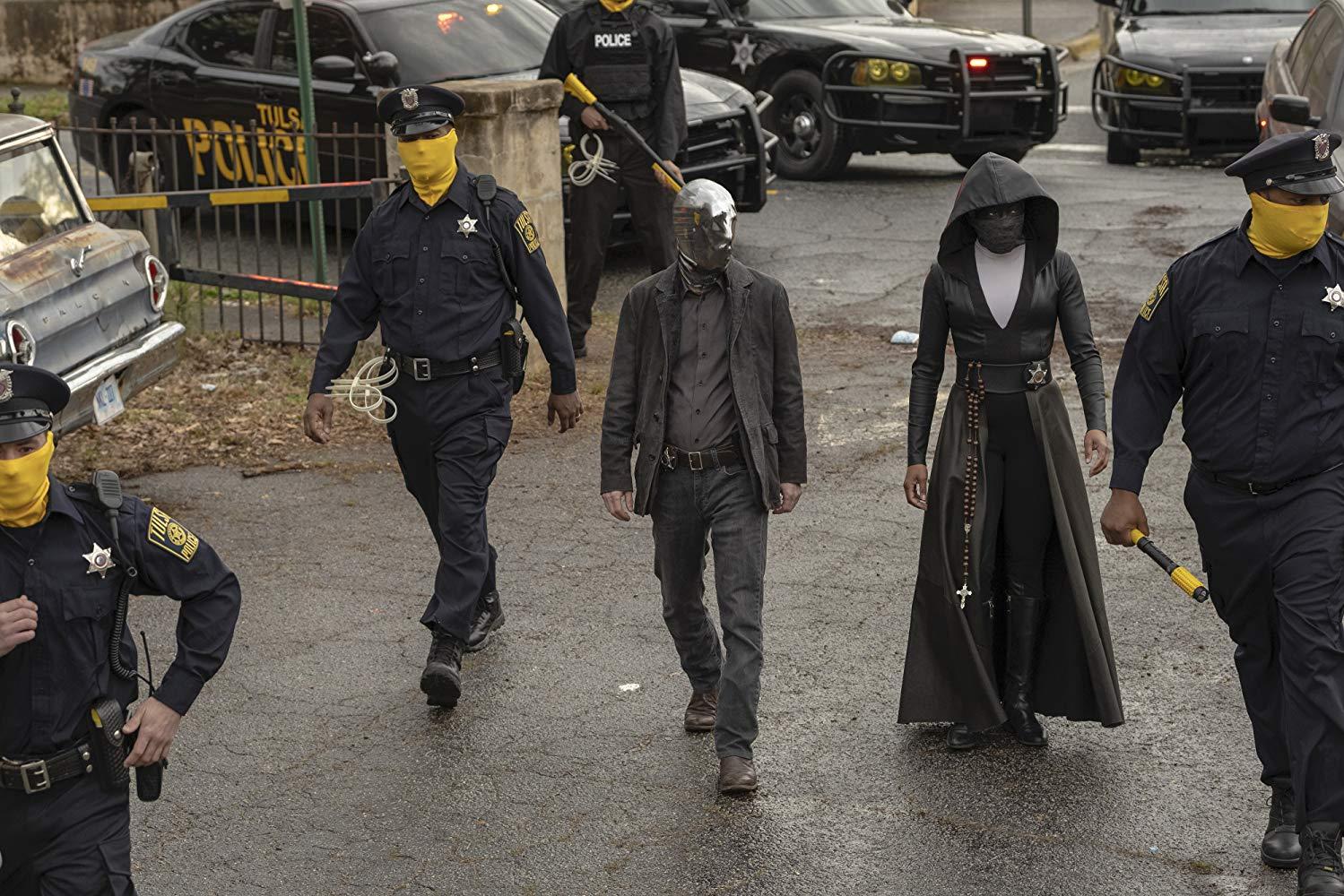 Resultado de imagen de Watchmen de Damon Lindelof (Creator), Steph Green, Nicole Kassell, Andrij Parekh, Stephen Williams (Serie TV)