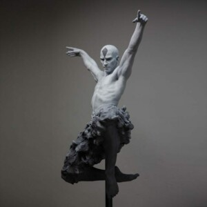 The Swan Dance Coderch Malavia Sculpture Bronze 9384