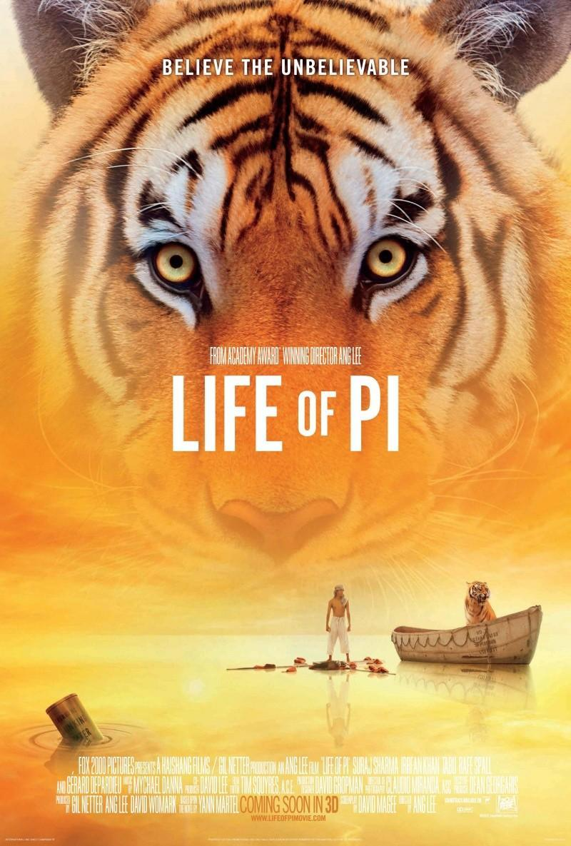 La Vida de Pi, de Ang Lee