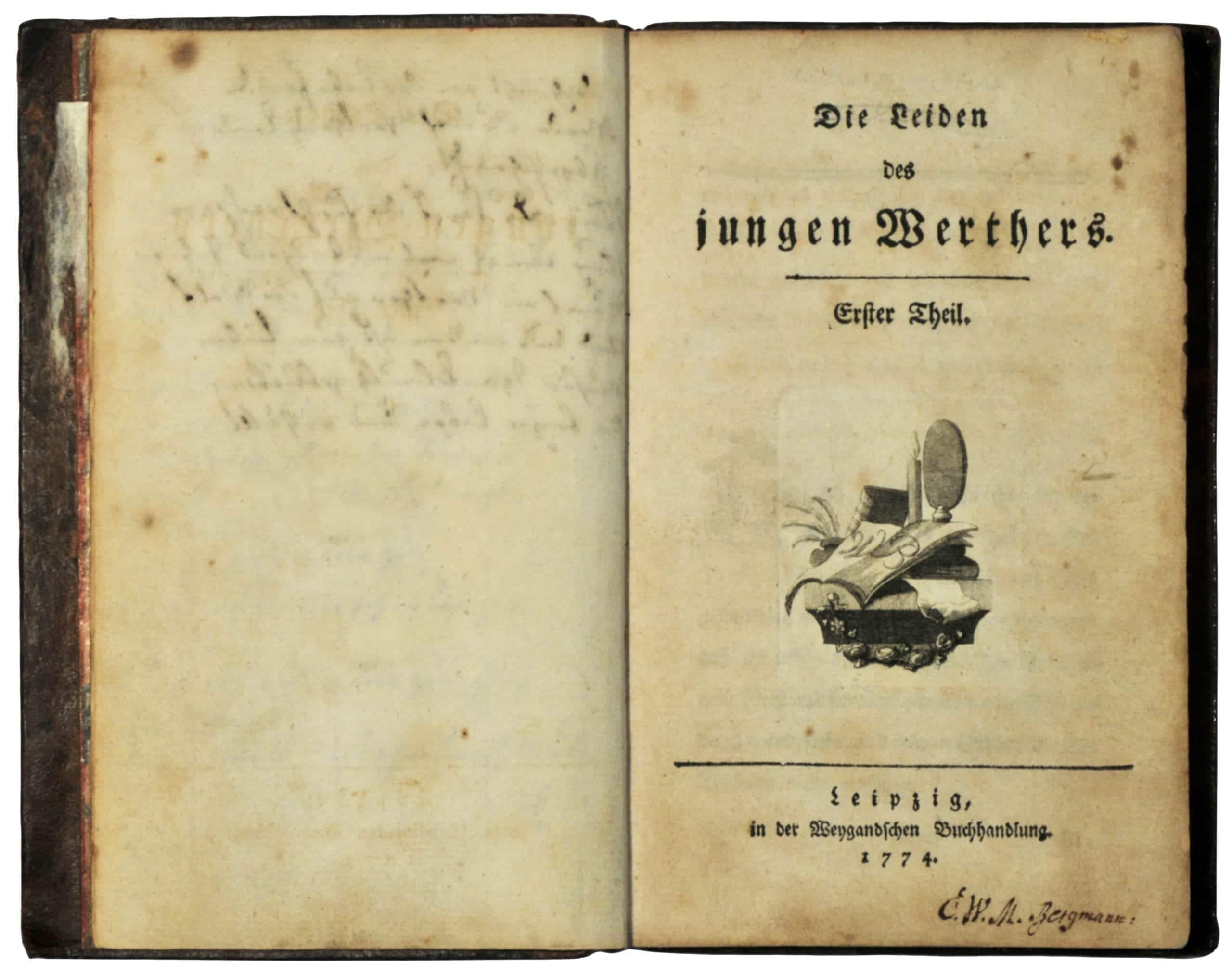 Las Penas del Joven Werther, Goethe