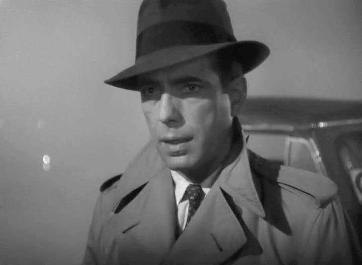 Humphrey Bogart in Casablanca trailer
