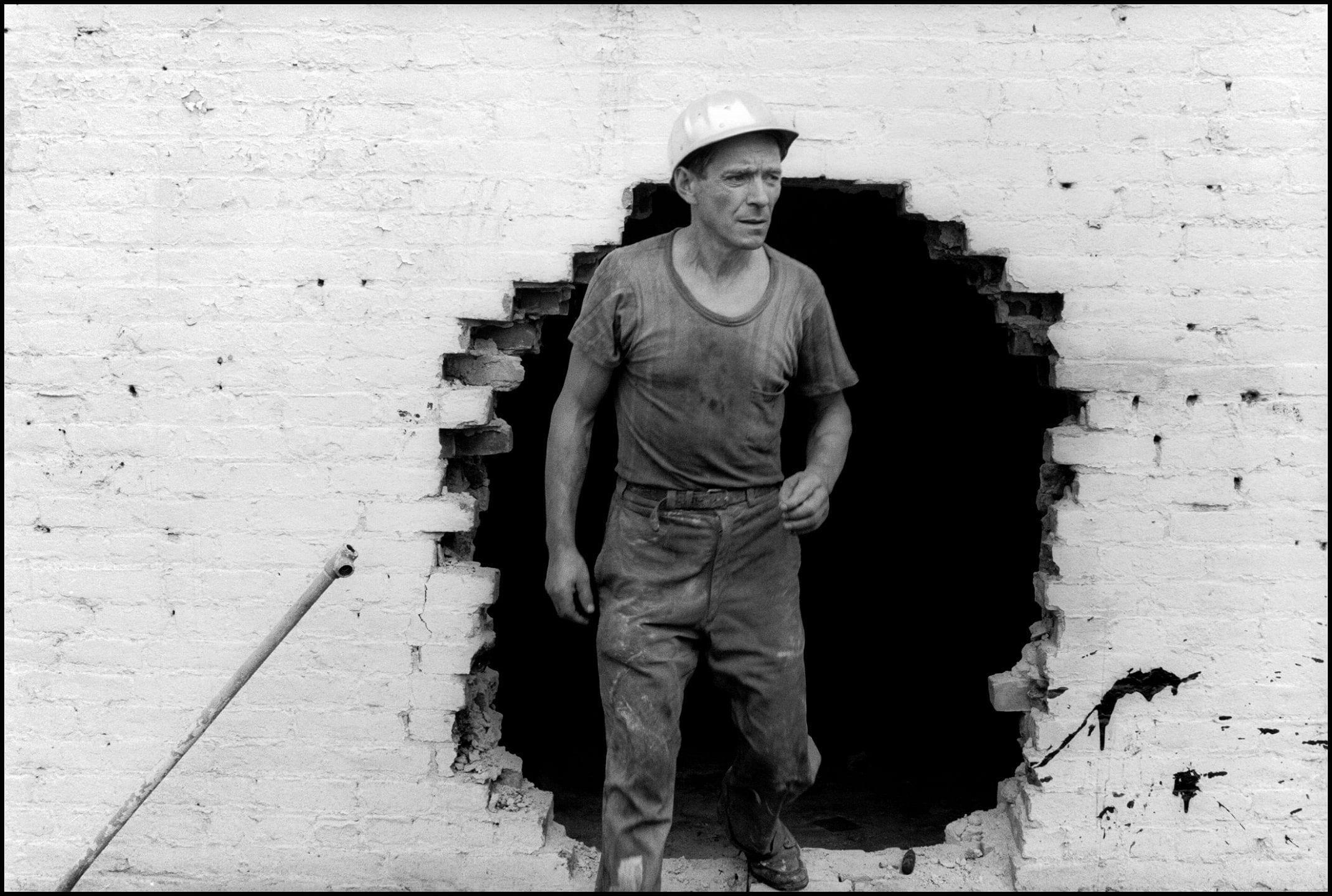Danny Lyon. la Destrucción del Bajo Manhattan. Museo ICO