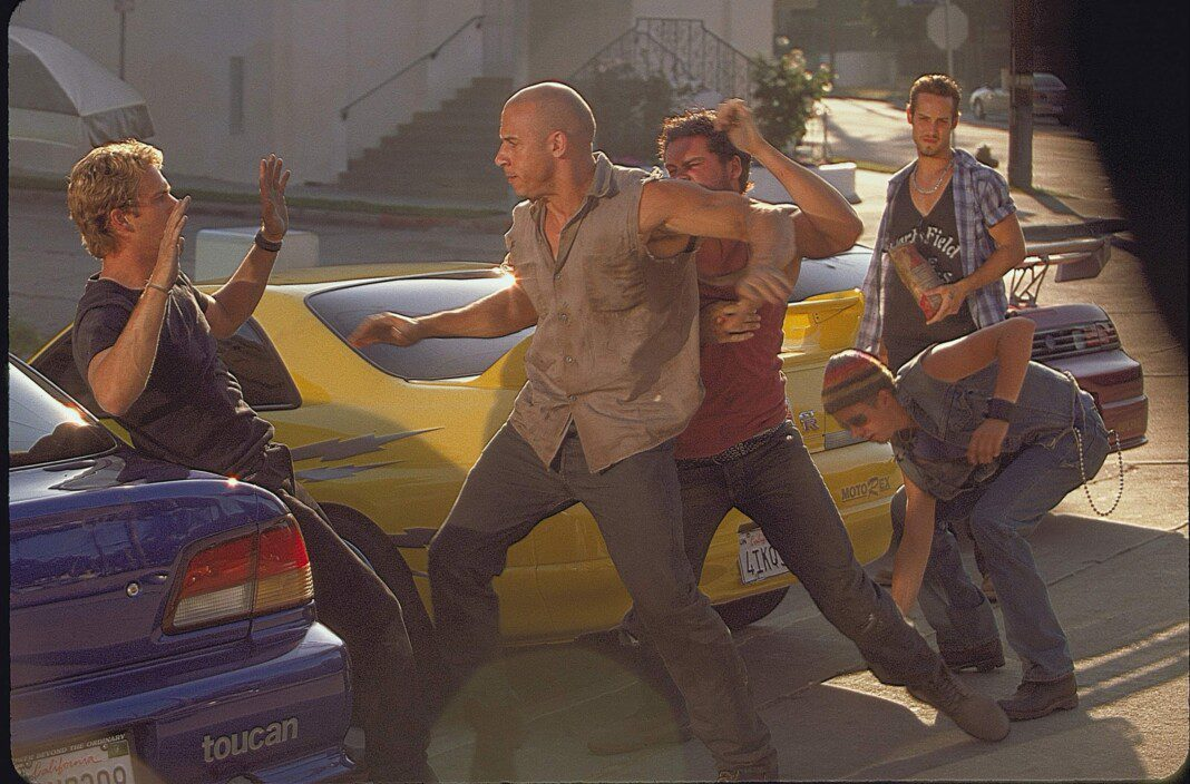 Vin Disel en The Fast and the Furious (2001)
