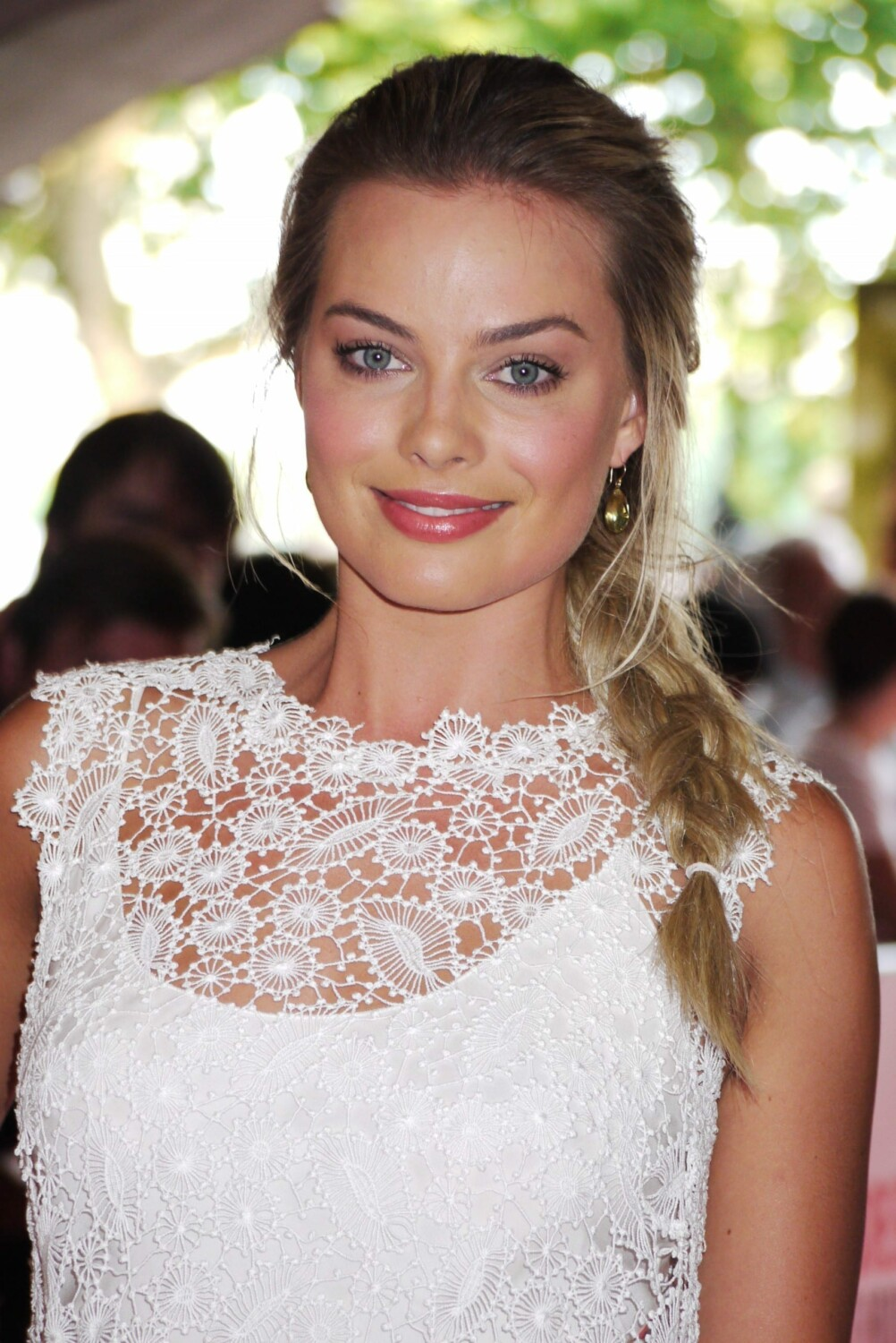 Margot Robbie at Somerset House in 2013 scaled