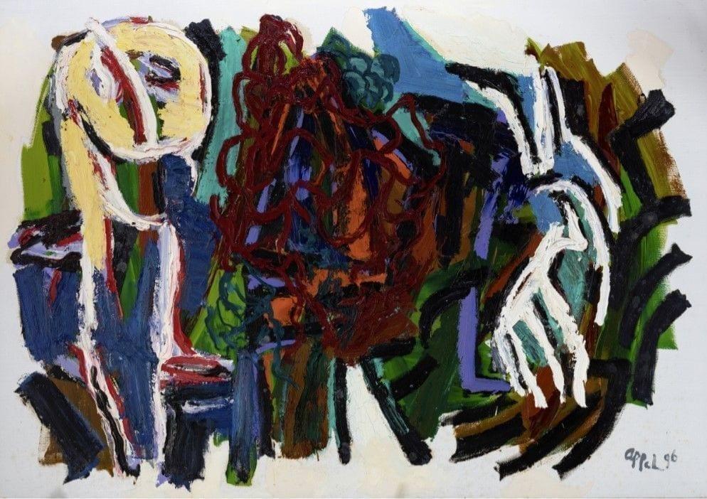 1601043411 Birth of Landscape Karel Appel