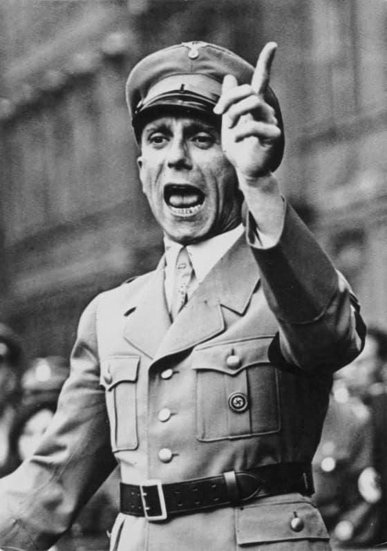 Joseph Goebbels. Creador de los principios de la Propaganda