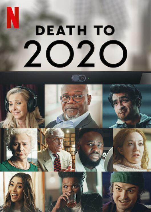 A la Mierda (Death to 2020). Programa en Netflix