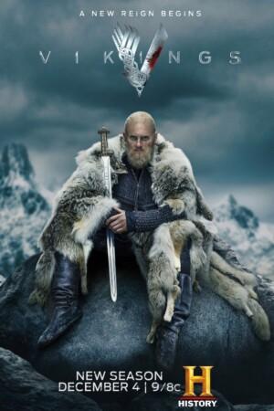 Vikings (Vikingos). Serie de Televisión. 2013-2020