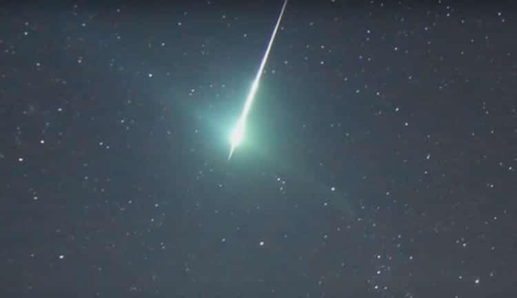 El año se inaugura para los amantes de la astronomía con la primera lluvia de estrellas del año, las Cuadrántidas. Image Credit: NASA