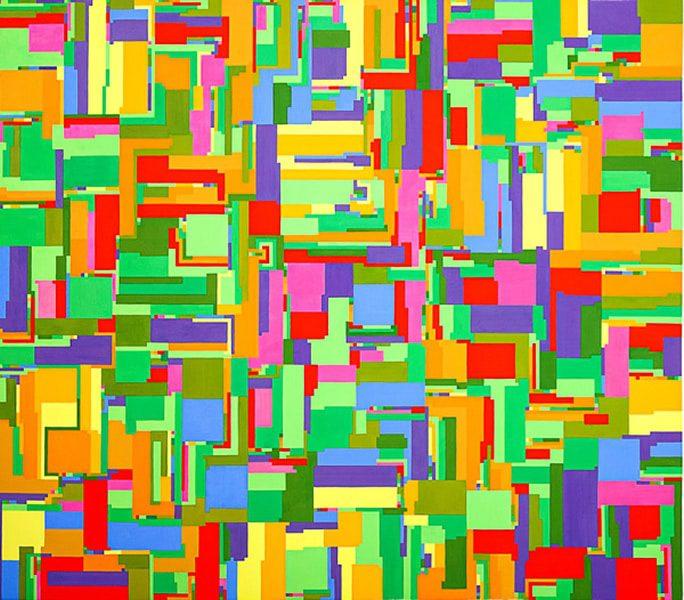 FORMATO 1Gouache sobre papel 116 x 113