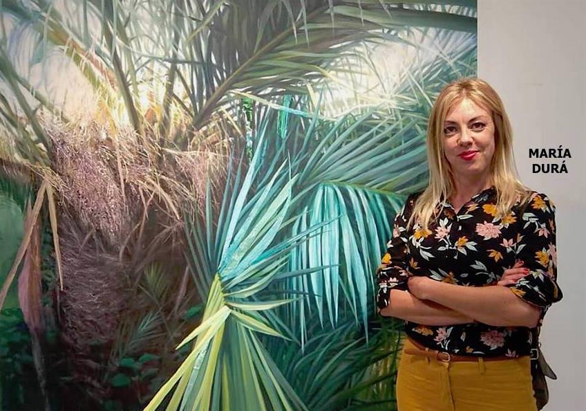 María Durá. Palmeras y +