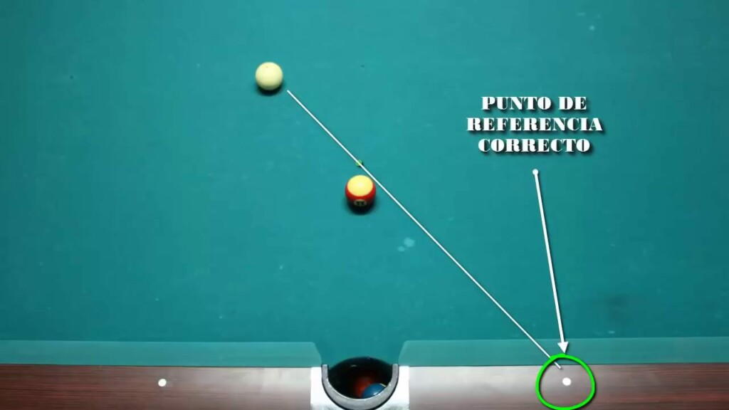 Cómo Apuntar en Billar Americano (Pool): La Bola Fantasma. @José Marí Billiard Fanatic