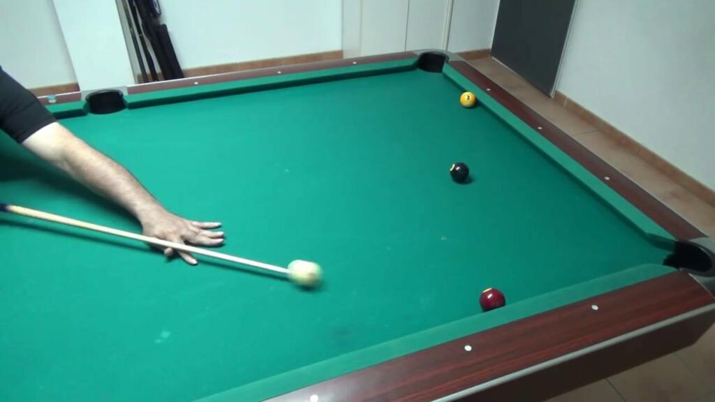 Cómo Parar la Bola Blanca: Tiro Stop en Billar Americano (Pool)
