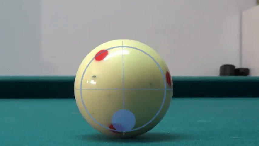 Retroceso de Bola Blanca en Billar Americano (Pool)