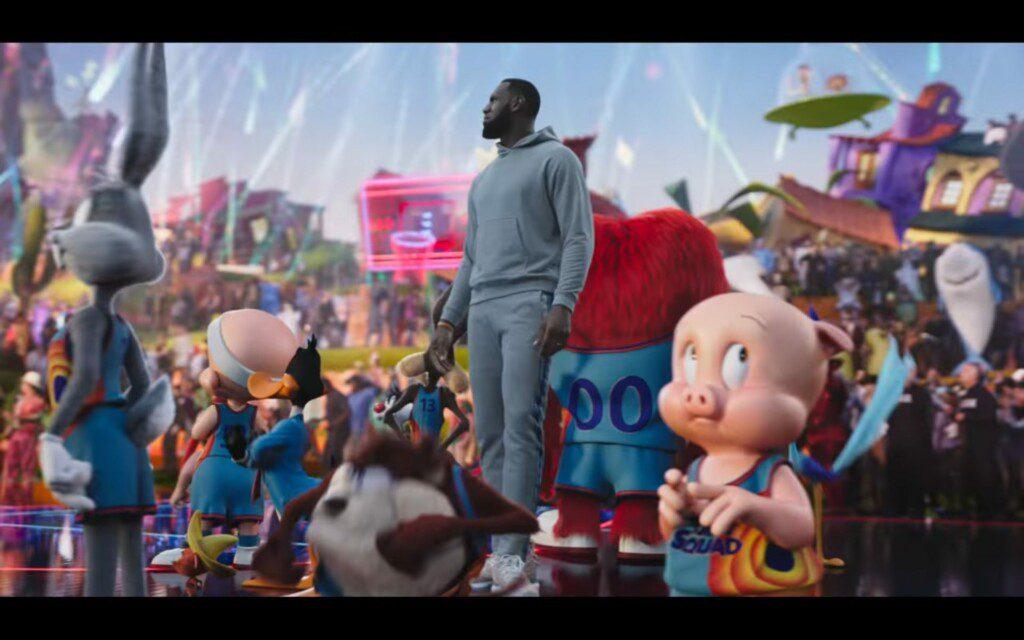 Space Jam: Nuevas leyendas (2021). Película con LeBron James