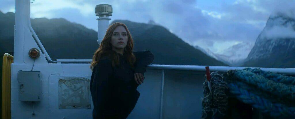 Scarlett Johansson en Viuda Negra (2021)