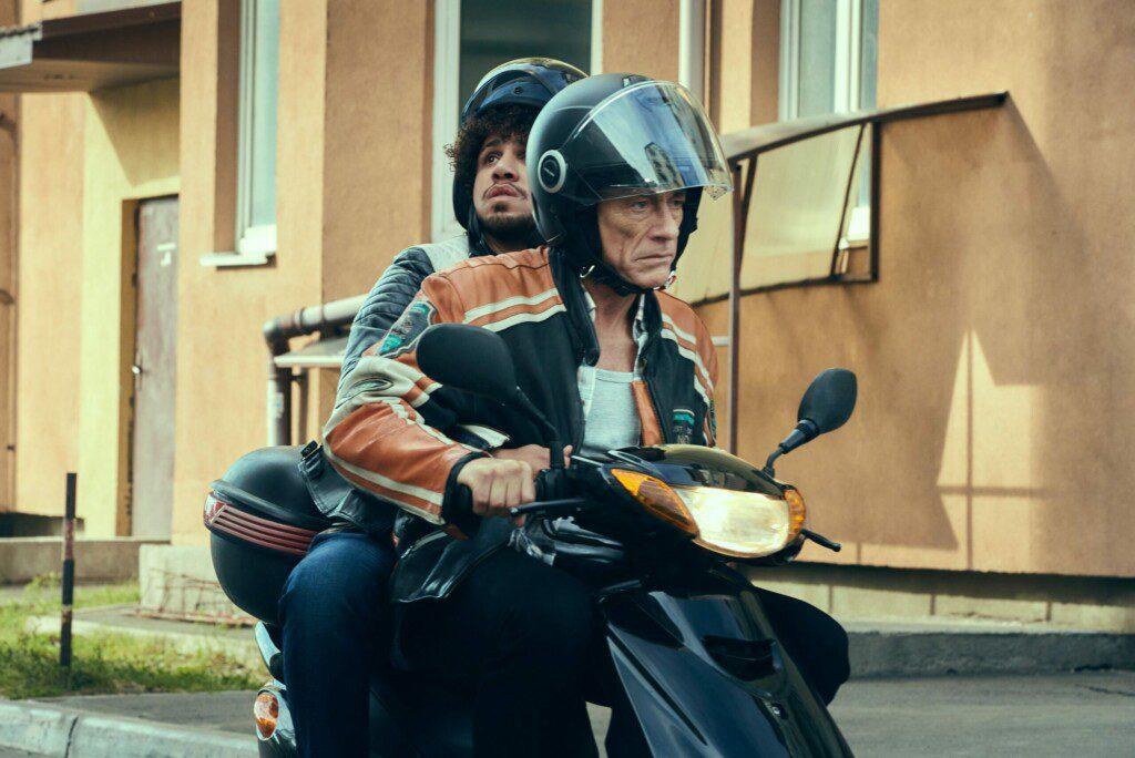 El último mercenario (2021). Con Jean-Claude Van Damme