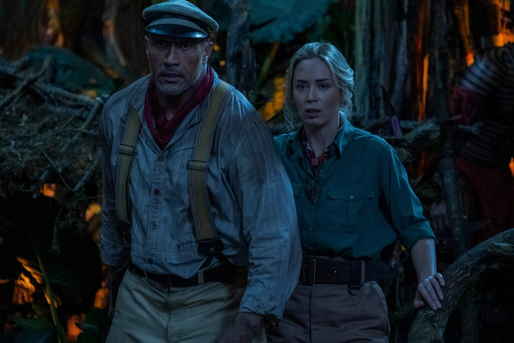 Jungle Cruise (2021). Con Dwayne Johnson y Emily Blunt
