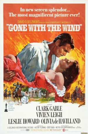 Lo que el viento se llevó (1939), de Victor Fleming, George Cukor y Sam Wood