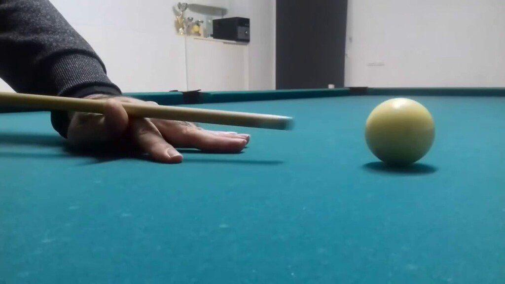 Tipos de Puente en Billar Americano (Pool). Puente Abierto. @José Marí Billiard Fanatic