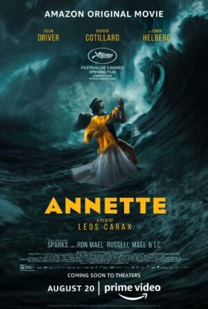 Annette (2021). Musical con Adam Driver y Marion Cotillard