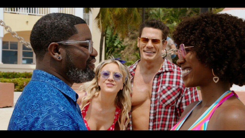 Amigos Pasajeros (2021). Película con John Cena