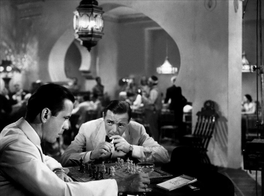 Casablanca (1942). Una película de Michael Curtiz con Humphrey Bogart e Ingrid Bergman