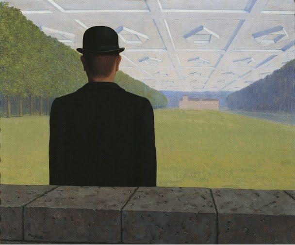 René Magritte. El gran siglo, 1954. Kunstmuseum Gelsenkirchen. © René Magritte, VEGAP, Madrid, 2021.