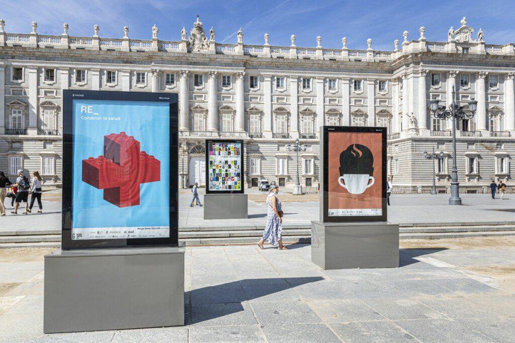 'Re_' en Madrid. Exposiciones